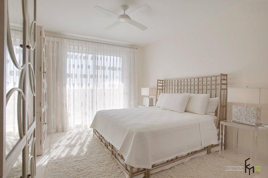 Белые шторы в интерьере квартиры: красивые идеи дизайна на ...