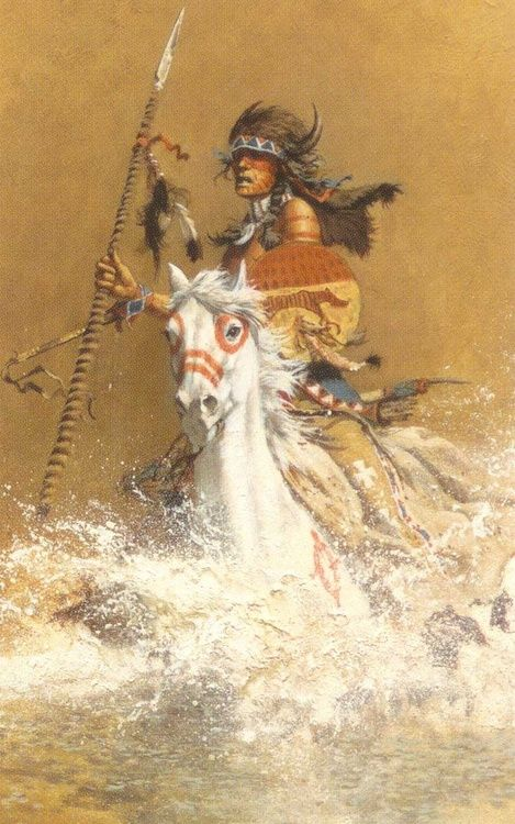 ✯ Charging the Challenger:: Artist Frank McCarthy ✯