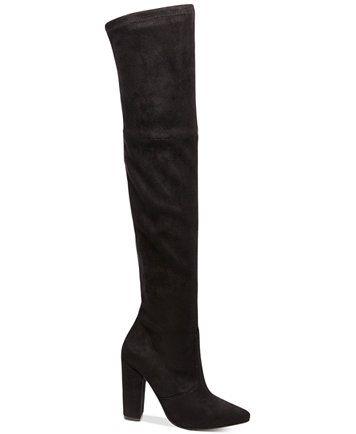 Steve Madden Women's Rocking Block-Heel Over-The-Knee Boots   macys.com