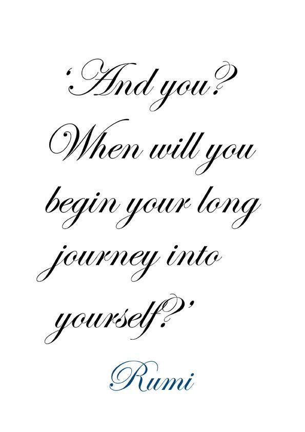 ♔ ~ Rumi