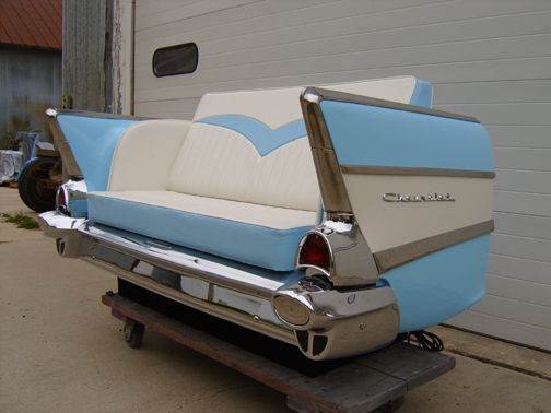 57 Chevy couch... The perfect couch for a Man Cave! | Man Cave ...