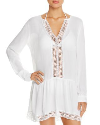 2451a5225de7e ATHENA Cabana Tunic Swim Cover-Up | Bloomingdale's | Chic Beach in ...