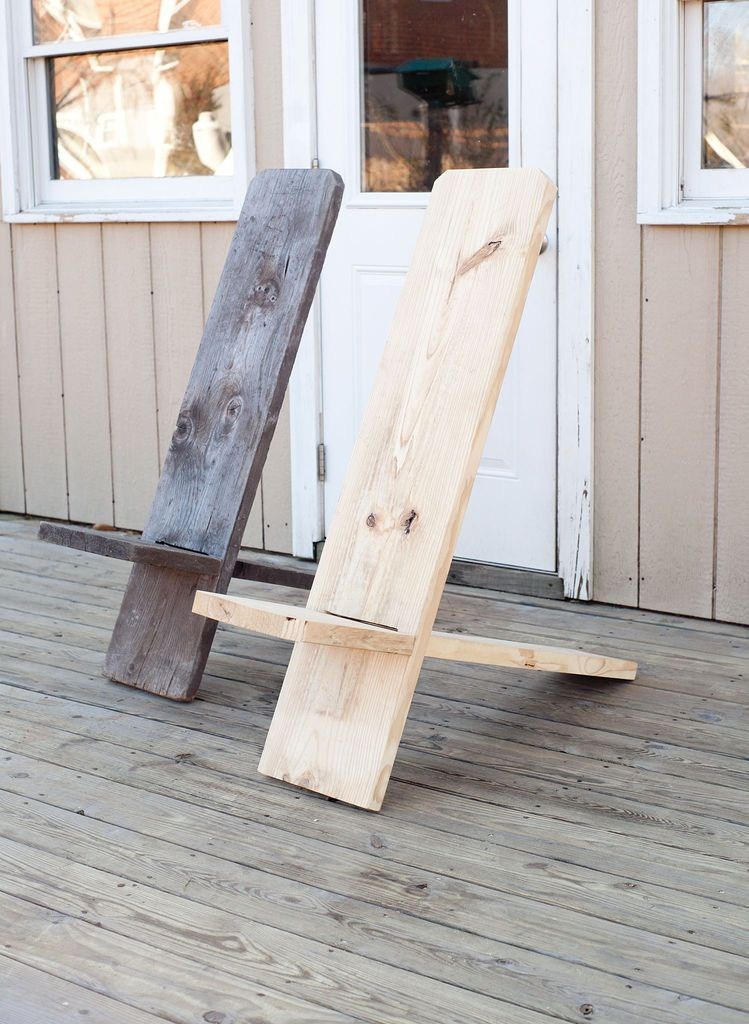 One Board Minimalist Chair Diy Home Pinterest Woodworking