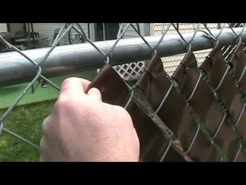 Converting My Chain Link Fence To A Stone Wall Youtube Chain Link Fence Cover Fence Weaving Chain Link Fence Privacy