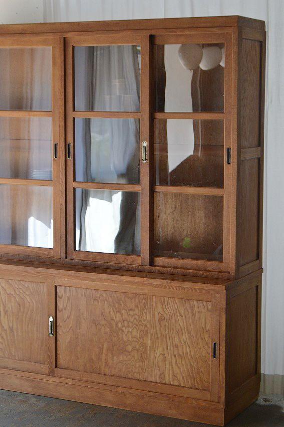 大きな食器棚 I Love These Type Of Kitchen Cabinets 书架展示架 In
