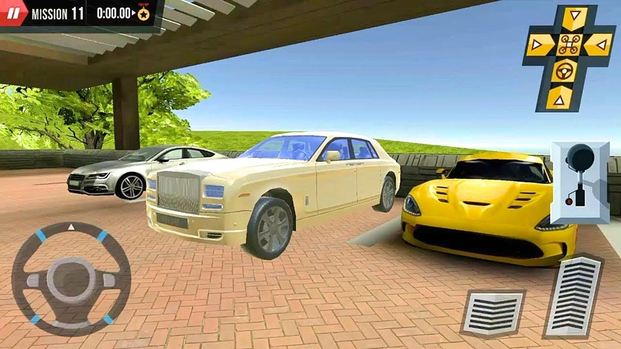 Rolls Royce Car Parking Game Shopping Mall Car Truck Parking Android Super Cars Car Car Parking