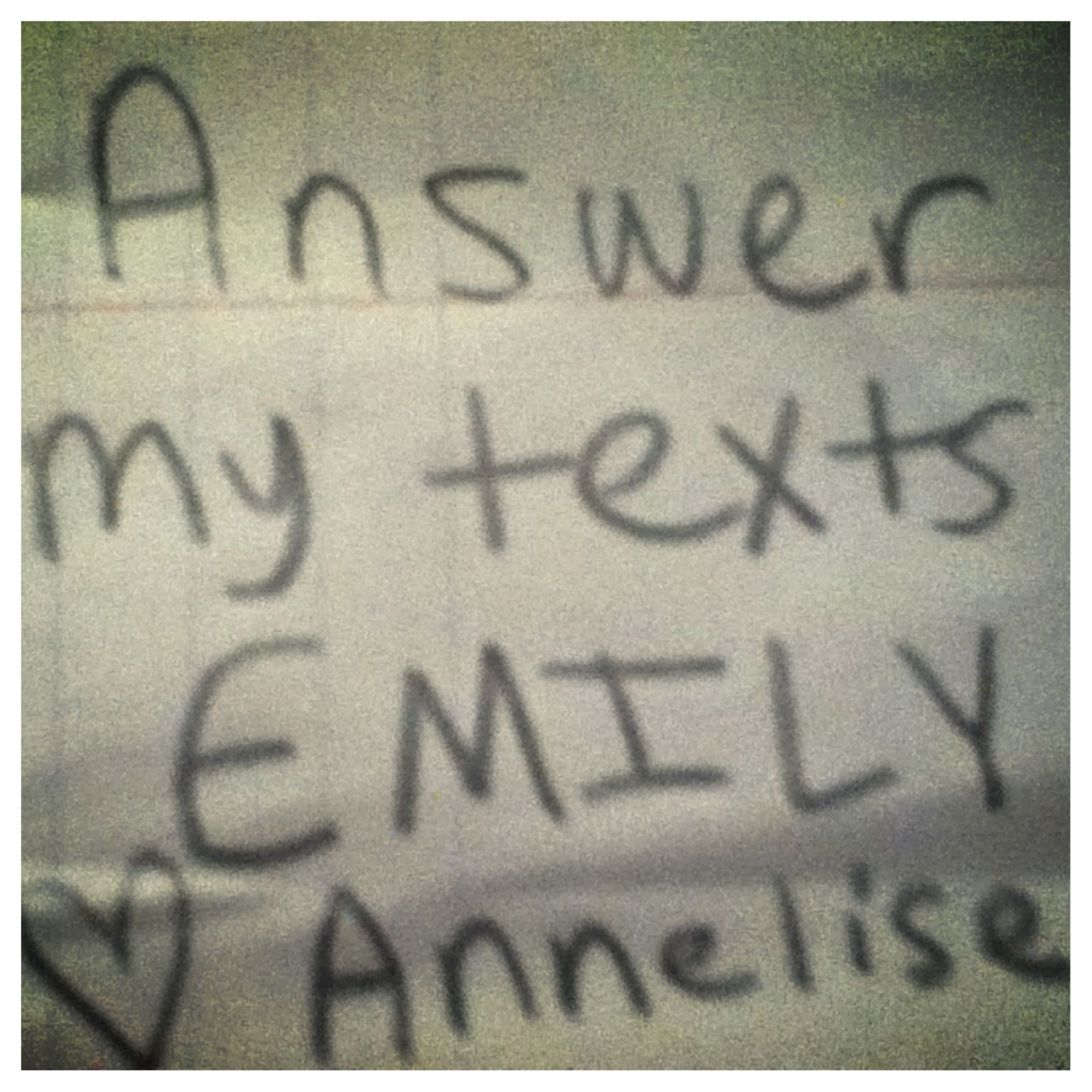 EMILY this is for you.