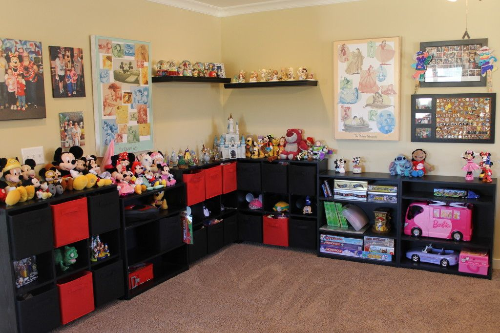 Disney Playroom Decor and Storage Disney playroom