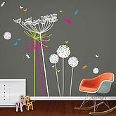 Dandelions And Cowparsley Wall Stickers