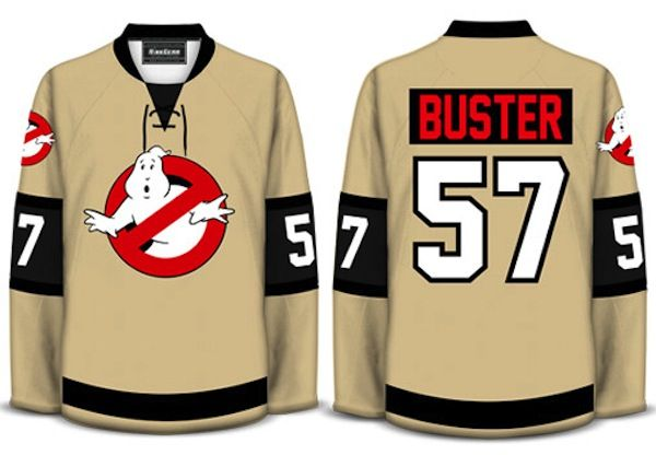 c3102bd8e Ghostbusters Hockey Jerseys Are Perfect For Halloween