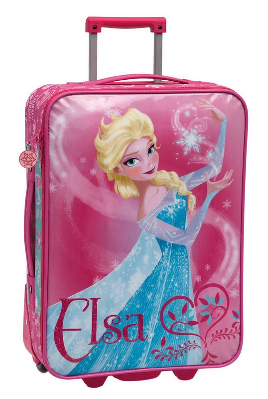 Maleta Trolley Frozen Frozen Elsa And Anna Barbie Doll Car Frozen Merchandise