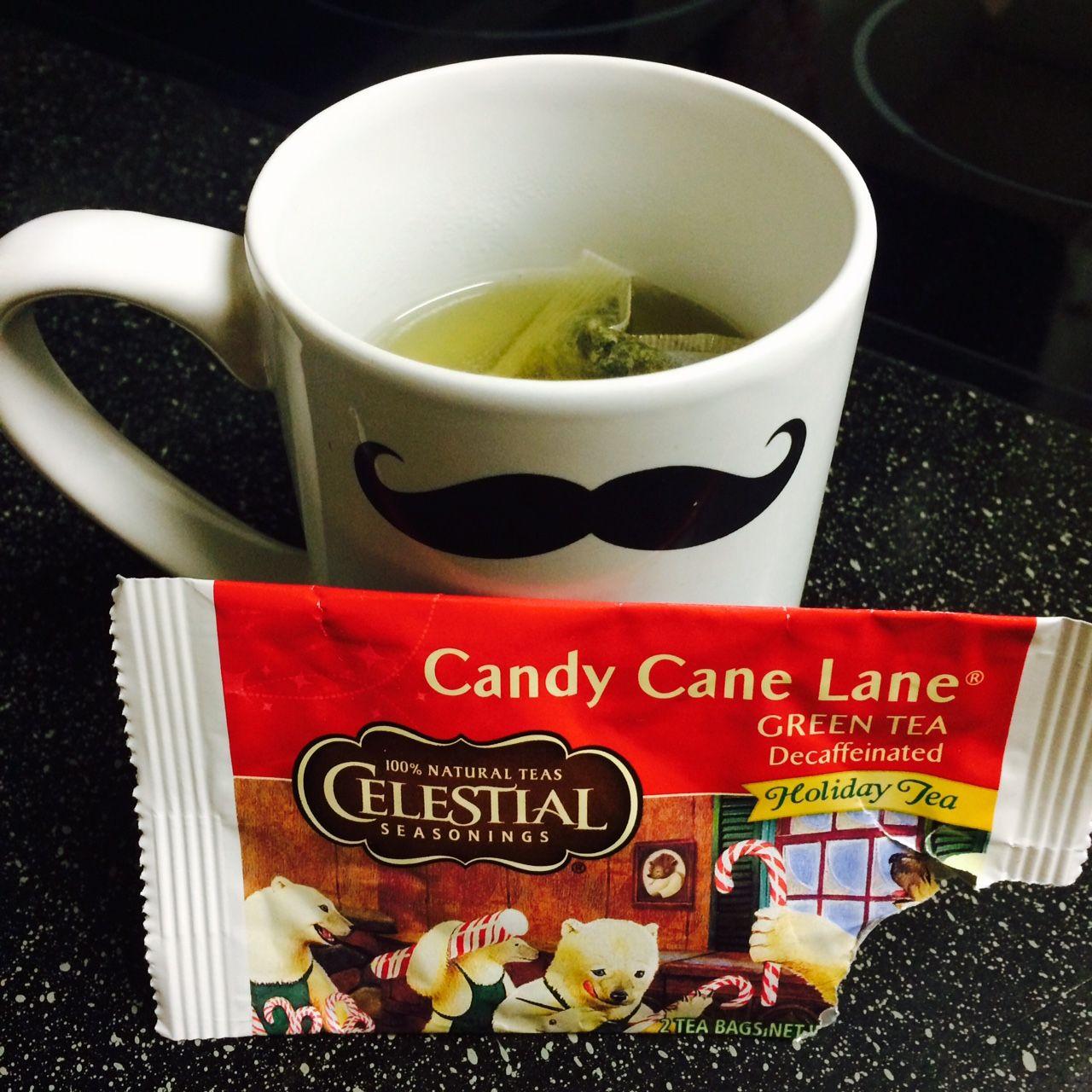 Celestial Seasonings Candy Cane Lane® Decaf Green Tea is