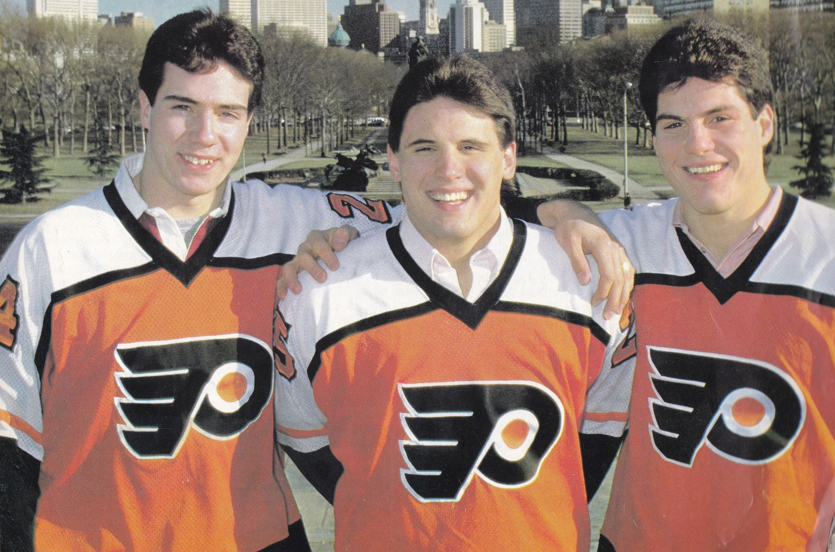 7b7be6fc0 Derrick Smith, Peter Zezel and Rick Tocchet | Hockey | Philadelphia ...