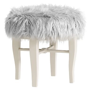 Remarkable Himalayan Glam Vanity Stool In 2019 Decor Inspirations Machost Co Dining Chair Design Ideas Machostcouk