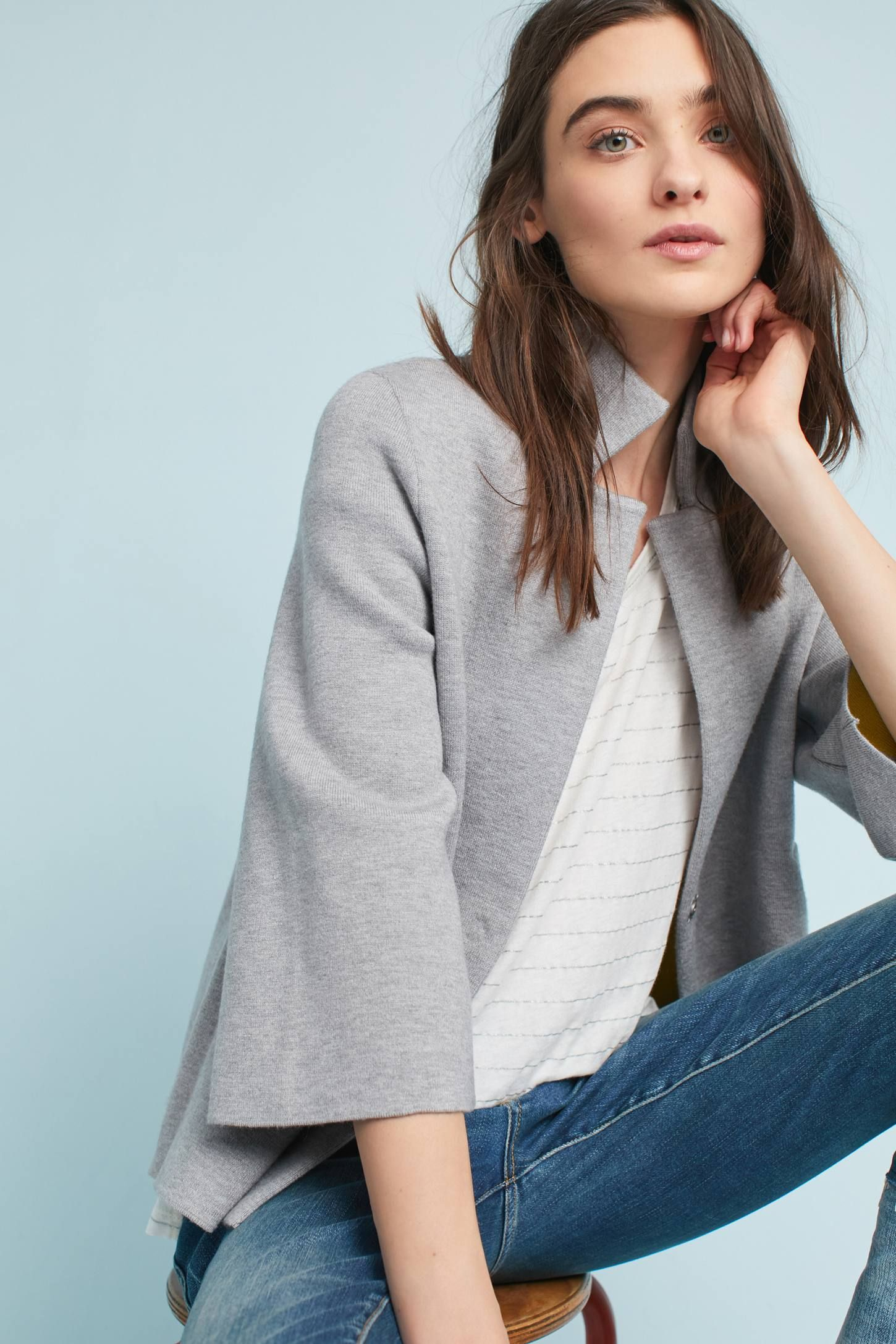 5ffb10c22e3 Shop the Carey Blazer Cardigan and more Anthropologie at Anthropologie  today. Read customer reviews, discover product details and more.