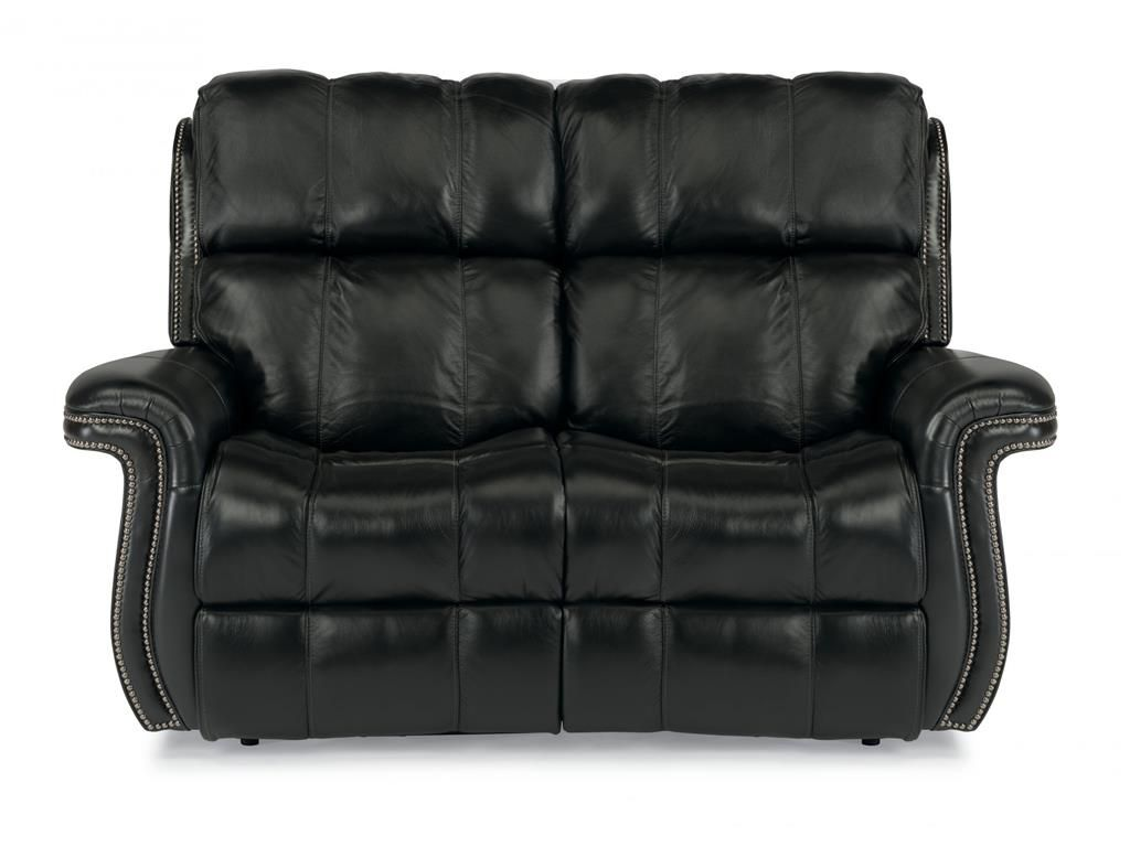 Fantastic Flexsteel Leather Power Reclining Loveseat 1601 60P Pdpeps Interior Chair Design Pdpepsorg