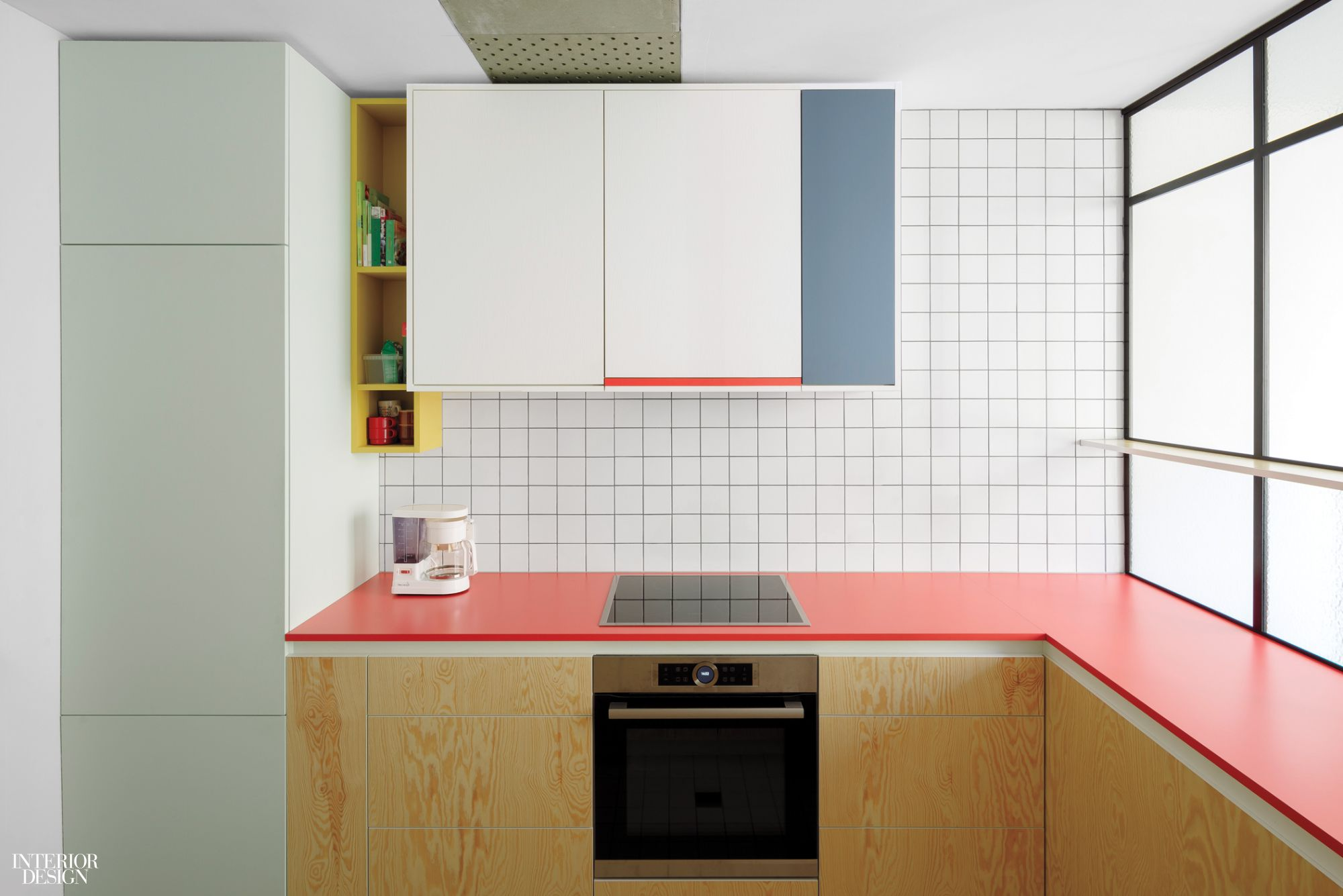 Dries Otten's Colorful Kitchens Evoke Abstract Canvases   Interior ...