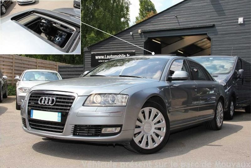 occasion audi a8 ii 2 4 2 v8 tdi 325 dpf avus limousine. Black Bedroom Furniture Sets. Home Design Ideas
