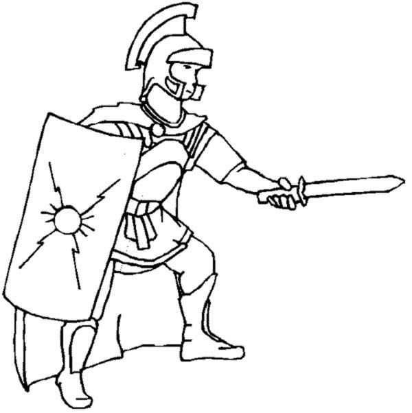coloring pages on ancient rome - photo#19