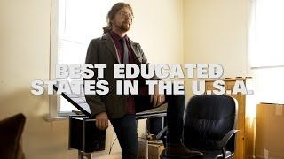 Top Ten Best Educated States in the USA 2014
