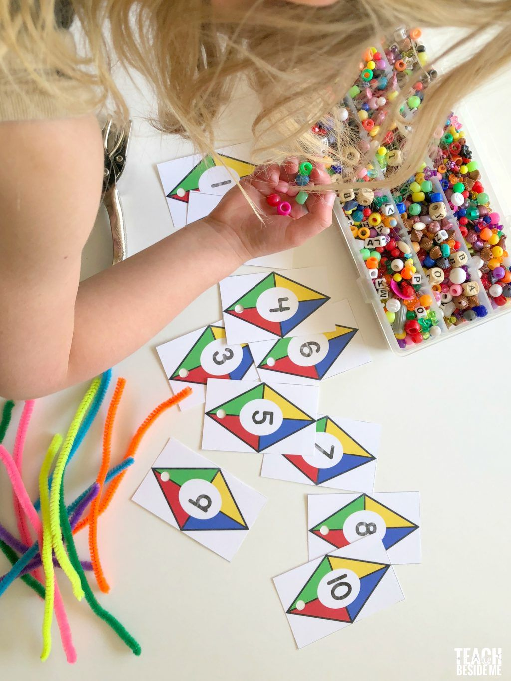 Kite Themed Preschool Math Preschool math, Preschool