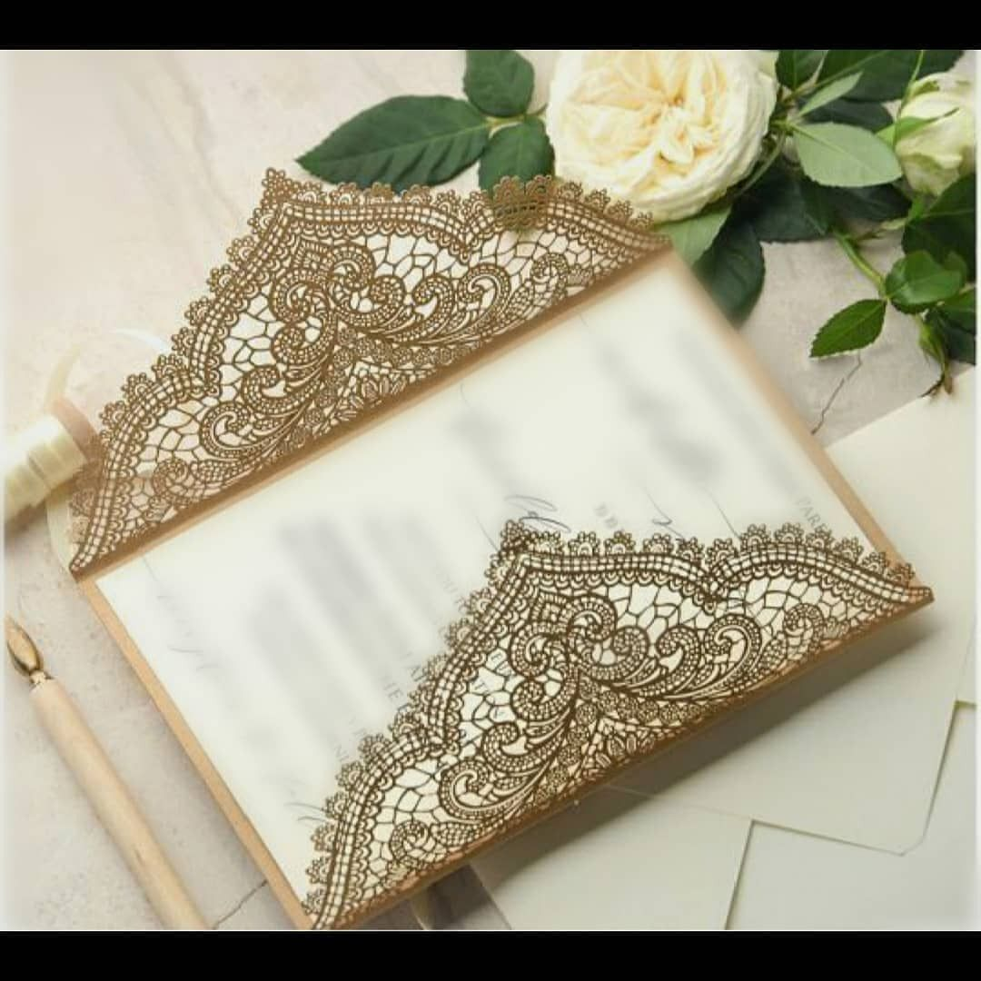 Designer cards to invite your guests like royalty!  #weddingcards #designercards #indianwedding