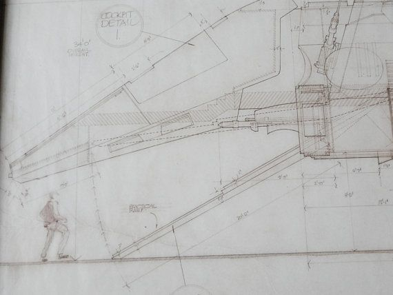 Star wars blueprint of an x wing loading ramp taken from the star star wars blueprint of an x wing loading ramp taken from the star wars blueprint book cut and fixed into frames to offer an unusual art piece malvernweather Images