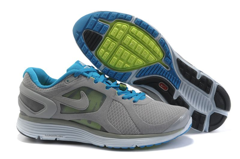 Nike Royal Blue White Green Lunareclipse 2 With