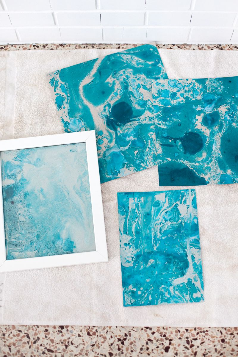How To Marbleize Paper Trials Amp Errors Diy Paper