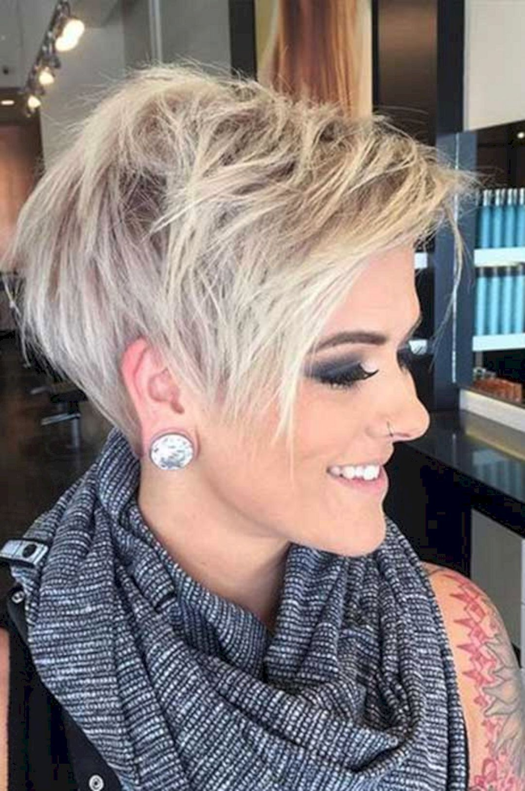 20 Interesting Short Hairstyles And Haircuts With Bangs Pinterest