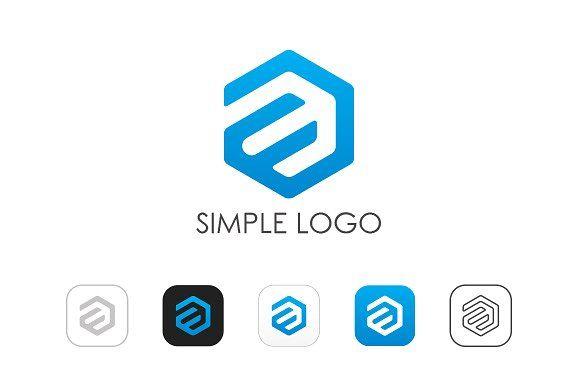 Minimal A E Logo By Nospacestore On Creativemarket