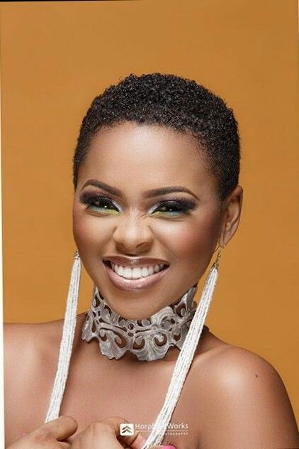Chidinma Nigerian Singer Short Natural Hair Styles Black