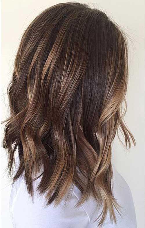 30 Best Wavy Bob Hairstyles Bob Haircut And Hairstyle Ideas Hair Styles Hair Color Balayage Hair