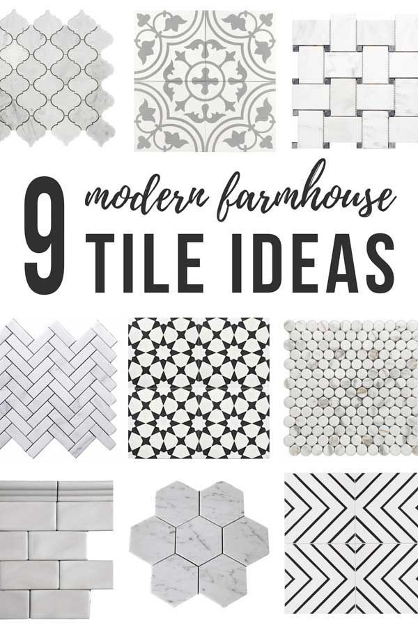 Photo of 9 Modern Farmhouse Tile Ideas (+ How To Tile A Floor) – Making Manzanita