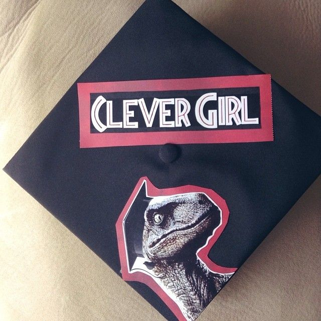 Graduation Cap Clever Girl: 40 Creative Graduation Caps Worth An A-Plus