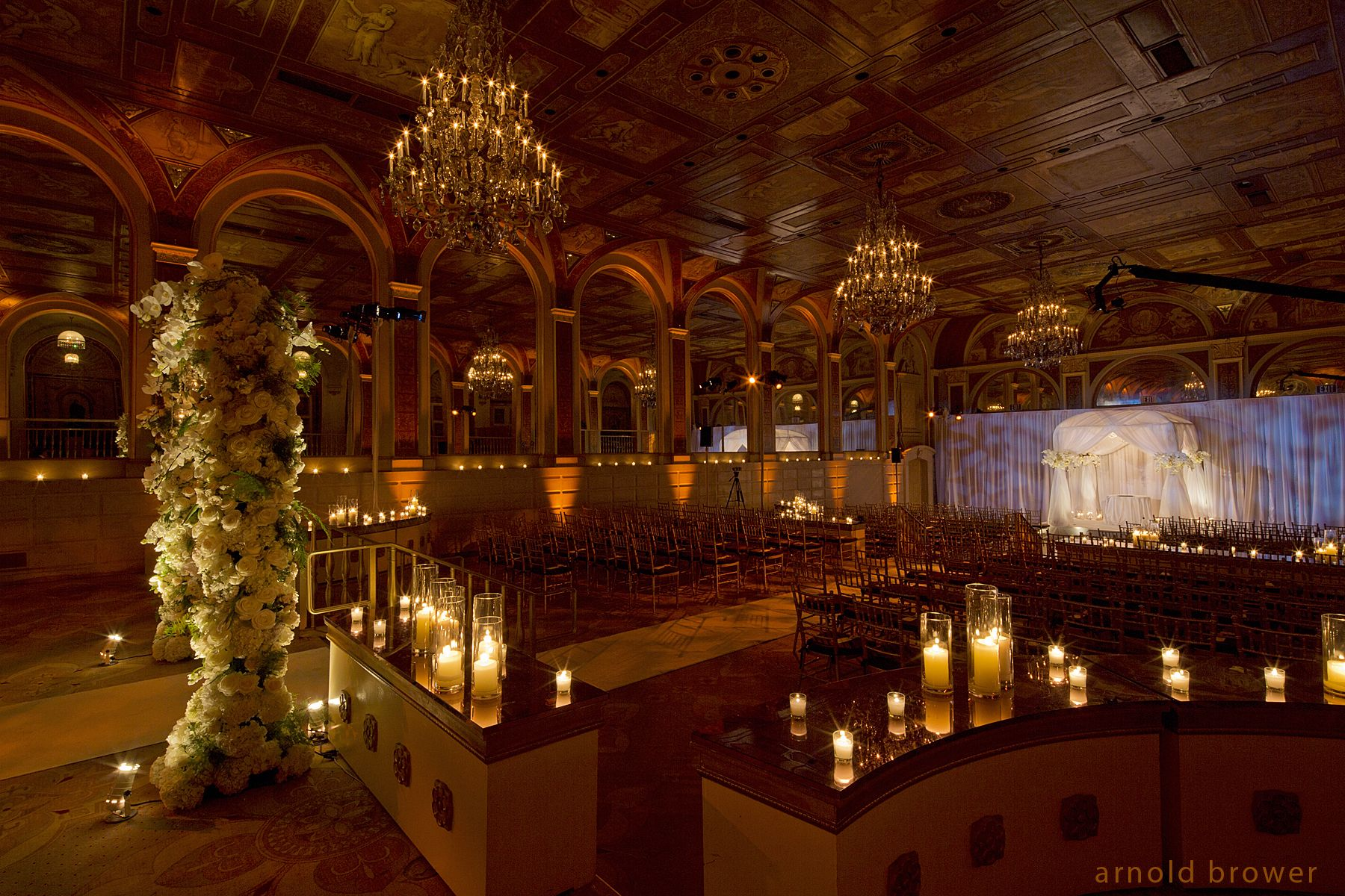 The Ceremony Wedding Design at the Plaza Hotel (With