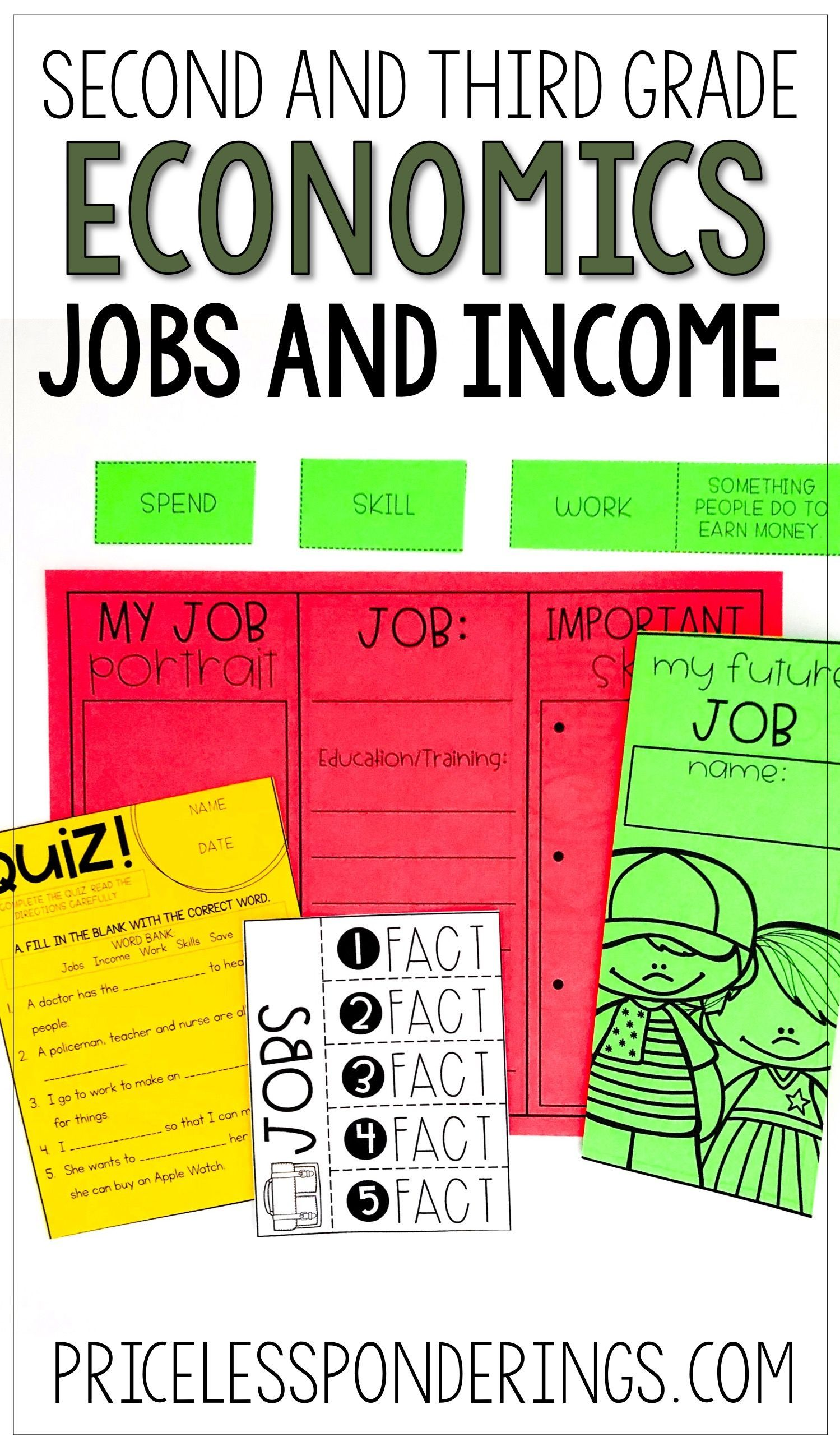 Economics Activities Jobs And Income
