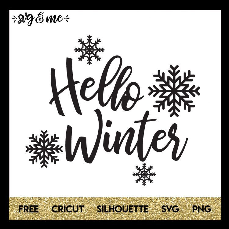 Hello Winter - SVG & Me