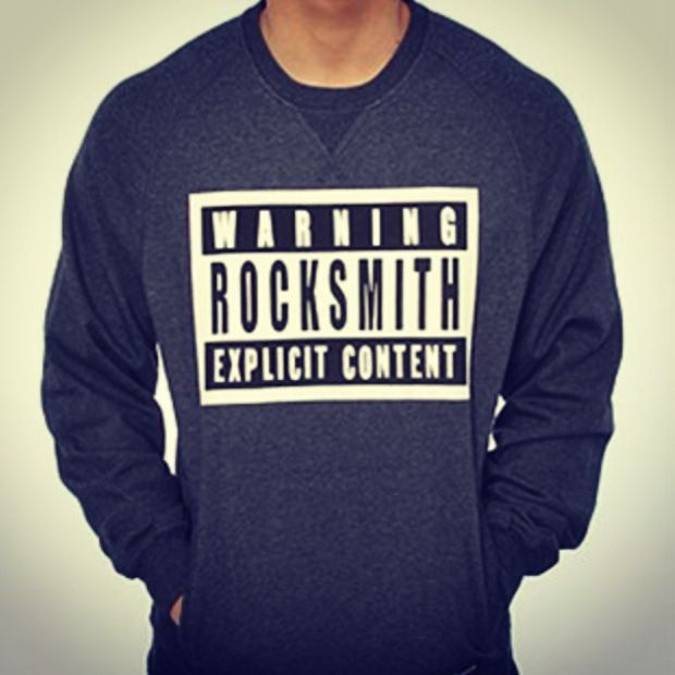 3a85ae51fe The Explicit Crewneck Sweatshirt. Brand  RockSmith. Price   65. Available  to purchase