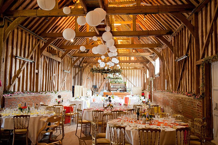15 Barn Wedding Venues In South East England Lillibrooke Manor