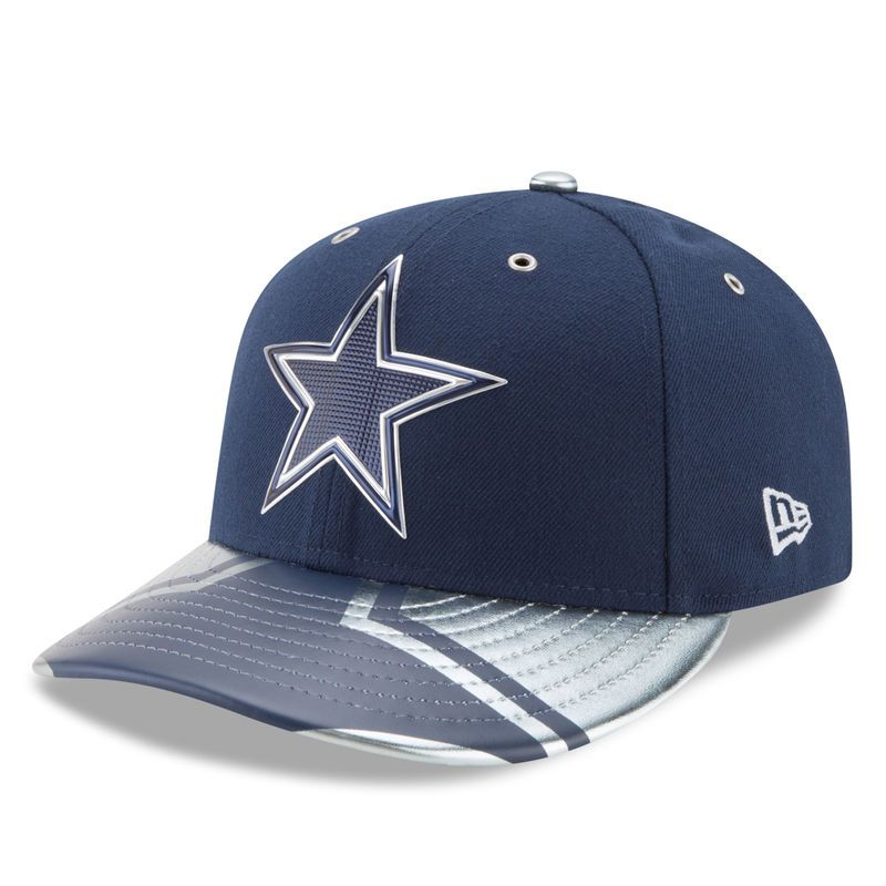 65061ca17dc Dallas Cowboys New Era 2017 NFL Draft Spotlight Low Profile 59FIFTY Fitted  Hat - Navy