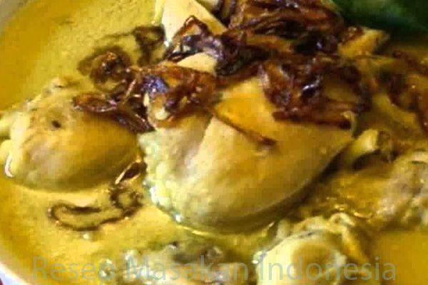 Resep Masakan Opor Ayam Bumbu Kuning Resep Masakan Resep Makanan Masakan