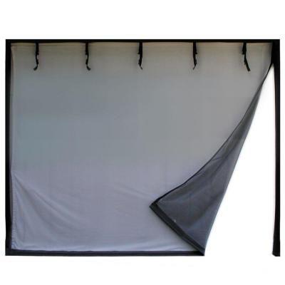 Fresh Air Screens 16 Ft X 8 Ft 2 Zipper Garage Door