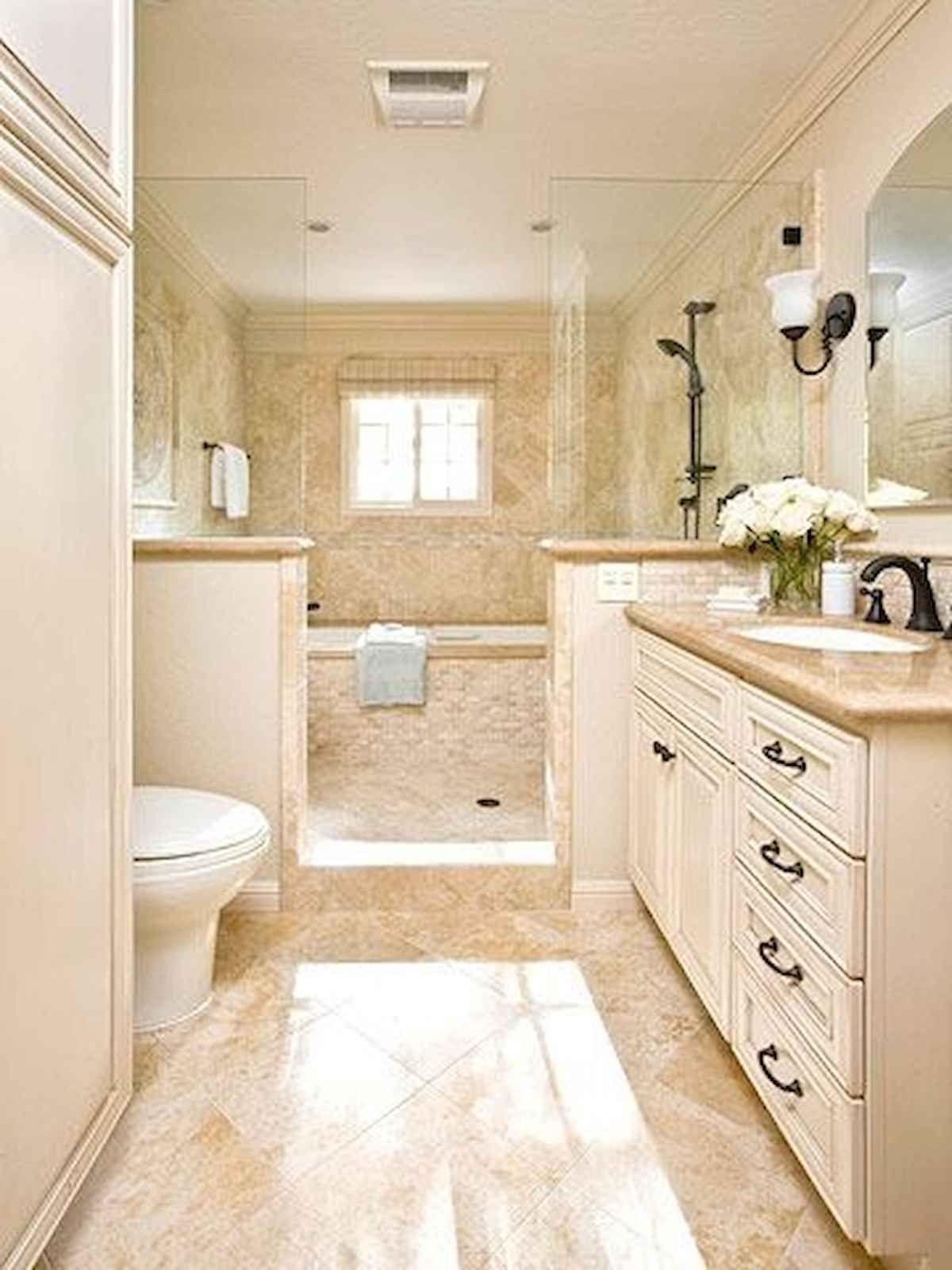 60 Elegant Small Master Bathroom Remodel Ideas (17 ...