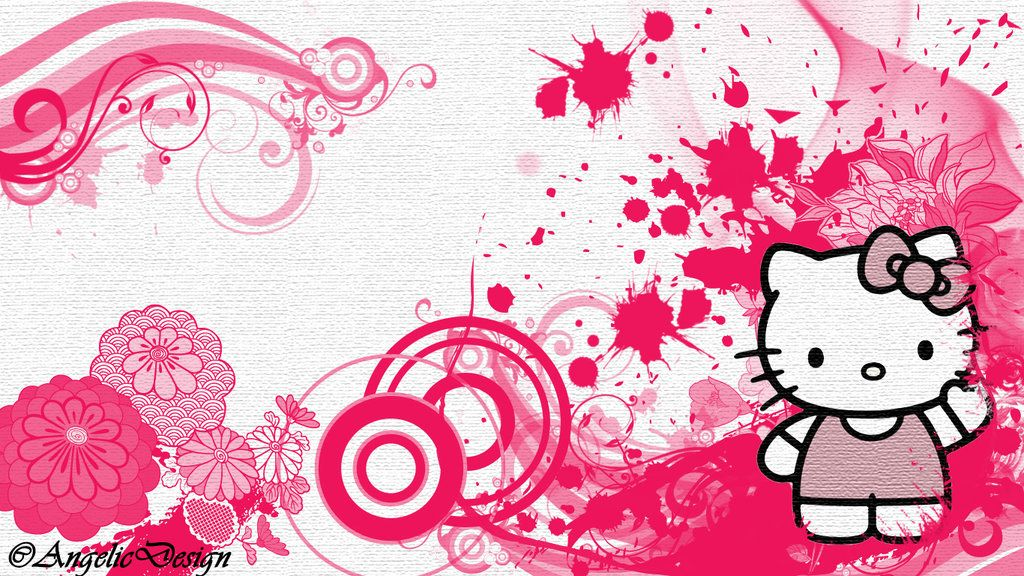 Pin Von Harvy Bangayan Auf Coloured Things Kitty Wallpaper Hello Kitty Sachen Hello Kitty Bilder