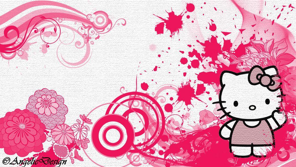 Cute Hello Kitty Backgrounds Wallpaper 1024 768 Hello Kitty
