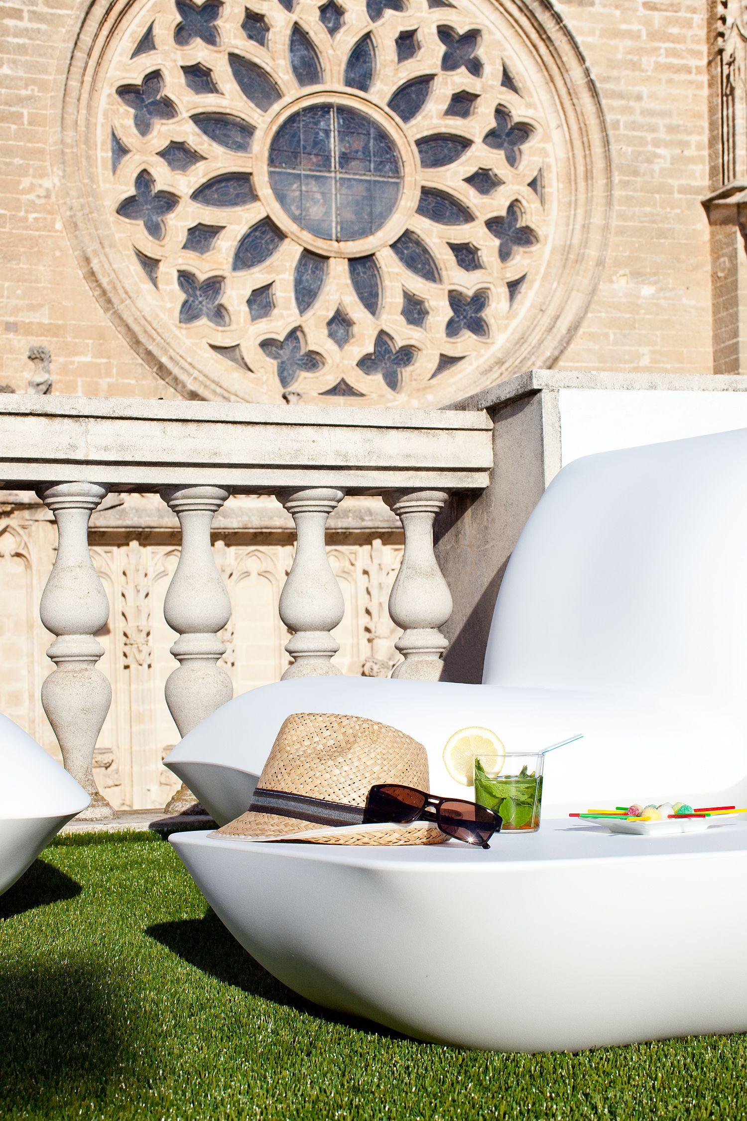 Nice Views Lounge Terrace Puerta Catedral Sevilla Spain