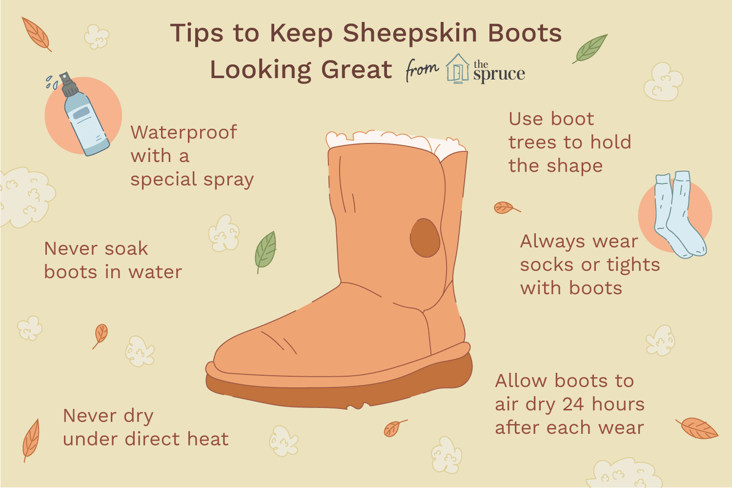 How To Clean And Care For Ugg Sheepskin Boots Cleaning Uggs