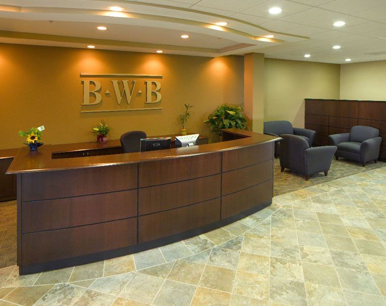 Cpa Firm Reception Area Bwb Colecraft Commercial Furnishings