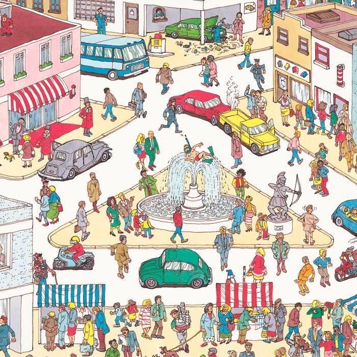 ¡busca a Wally!